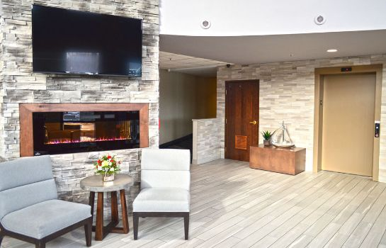 Hall de l'hôtel Maplewood Suites Extended Stay- Syracuse/Airport
