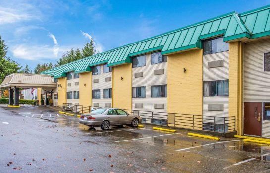 Buitenaanzicht Quality Inn & Suites Lacey I-5