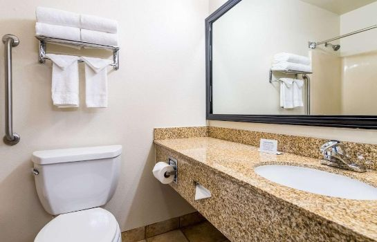 Badkamer Quality Inn & Suites Lacey I-5