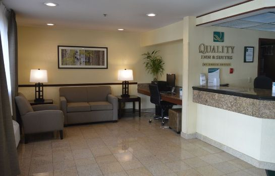 Hall de l'hôtel Quality Inn & Suites Lacey