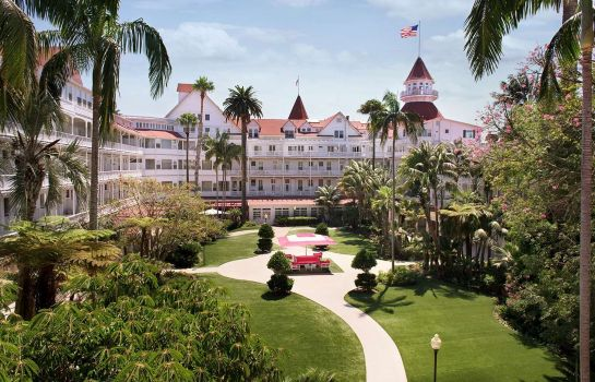 Vista exterior Hotel del Coronado Curio Collection by Hilton