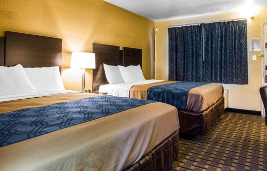 Doppelzimmer Komfort Econo Lodge Sacramento Convention Center