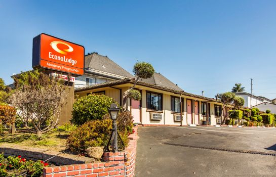 Vista esterna Econo Lodge Monterey Fairgrounds
