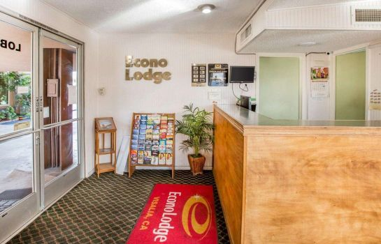 Hotelhalle Econo Lodge Sequoia Area