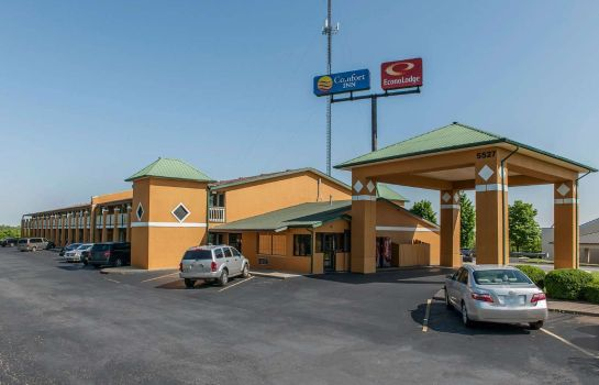 Vista esterna Econo Lodge Lexington