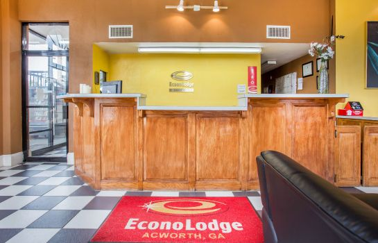 Hotelhalle Econo Lodge Acworth