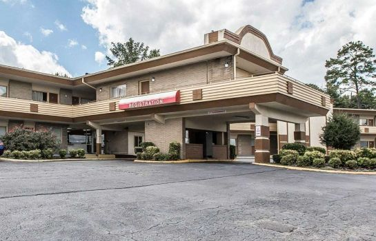 Buitenaanzicht Econo Lodge Macon