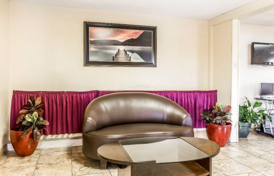 Hotelhalle Econo Lodge Macon