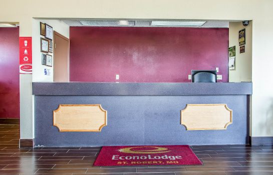 Hotelhalle Econo Lodge Saint Robert