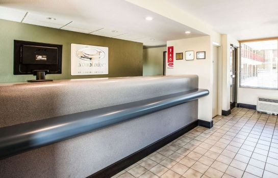 Hotelhalle Econo Lodge Asheville Airport