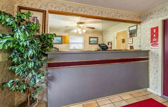 Hotelhalle Econo Lodge Worthington