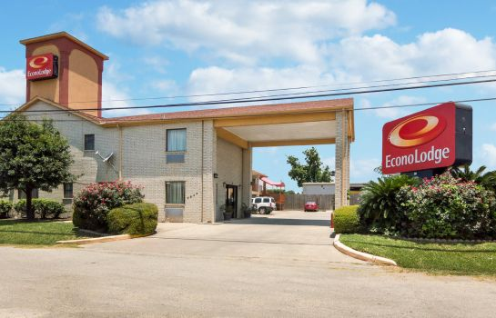 Exterior view Econo Lodge Houston