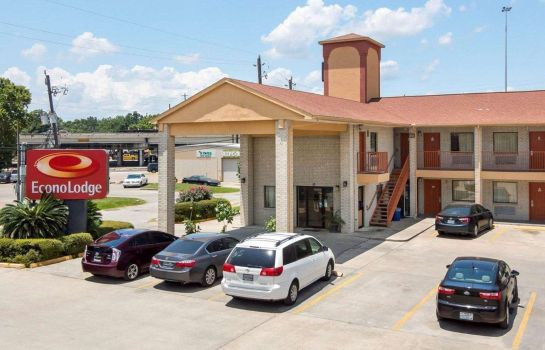 Vista exterior Econo Lodge Houston