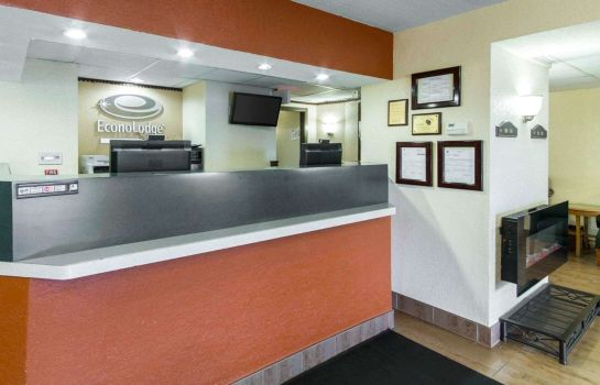 Hotelhalle Econo Lodge Madison