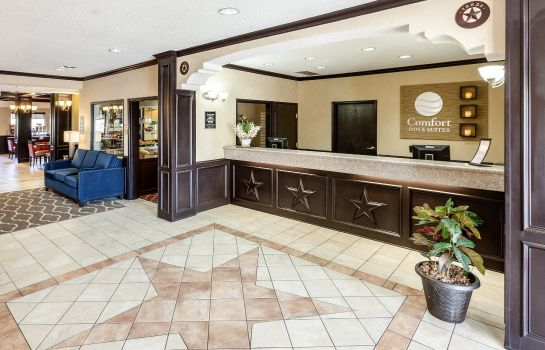 Lobby Comfort Inn & Suites Texas Hill Country