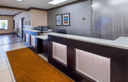 Hotelhalle BEST WESTERN GREENVILLE