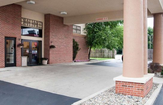 Außenansicht Quality Inn and Suites Niles