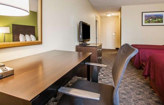 Chambre double (confort) Quality Inn Airport