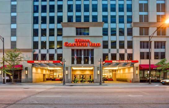 Exterior view Hilton Garden Inn Chicago Downtown-Magnificent Mile