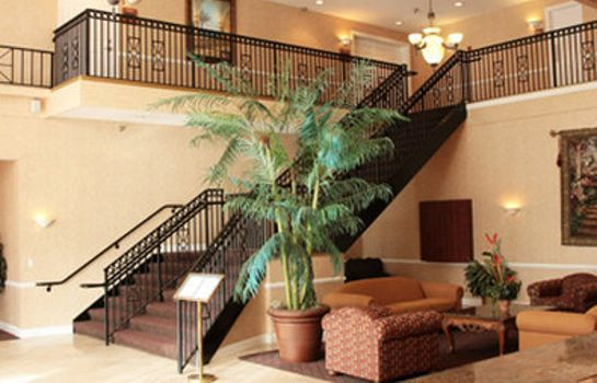 Hotelhalle Clarion Inn and Suites Clearwater