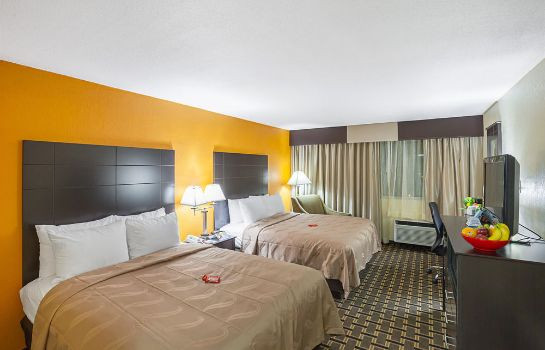 chambre standard Quality Inn & Suites Cincinnati Downtown