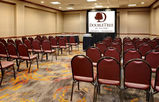 Conference room DoubleTree by Hilton Detroit - Dearborn