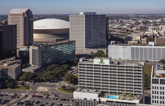 Vue extérieure Holiday Inn NEW ORLEANS-DOWNTOWN SUPERDOME