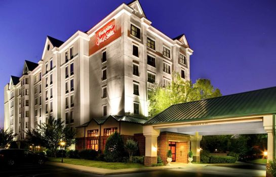 Außenansicht Hampton Inn - Suites Nashville-Vanderbilt-Elliston Place