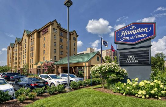 Buitenaanzicht Hampton Inn - Suites Nashville-Vanderbilt-Elliston Place