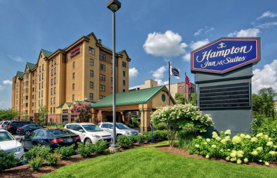 Vista exterior Hampton Inn & Suites Nashville-Vanderbilt-Elliston Place