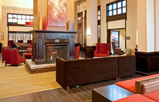 Hall de l'hôtel Hampton Inn - Suites Nashville-Vanderbilt-Elliston Place