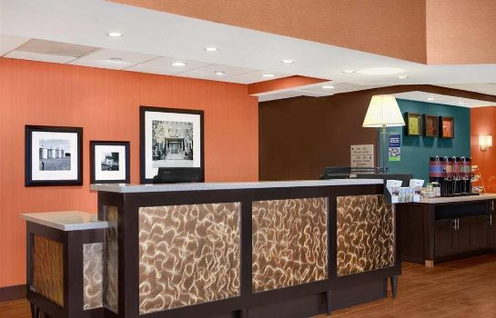 Lobby Hampton Inn Chicago-Midway Airport