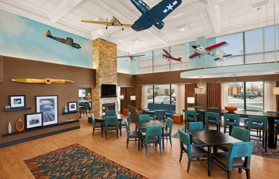 Hotelhalle Hampton Inn Chicago-Midway Airport