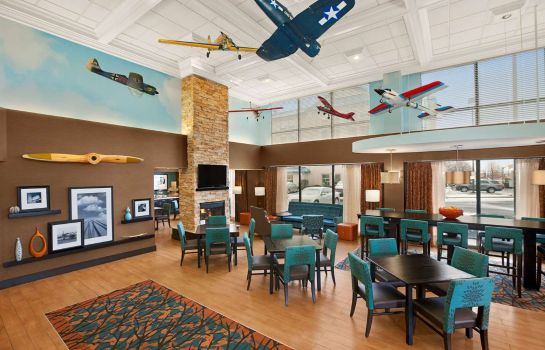 Hotelhal Hampton Inn Chicago-Midway Airport