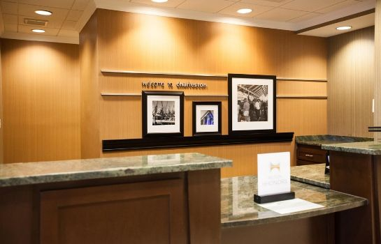 Hotelhalle Hampton Inn Charleston North