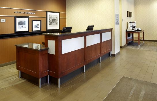 Hotelhalle Hampton Inn Cleveland-Downtown