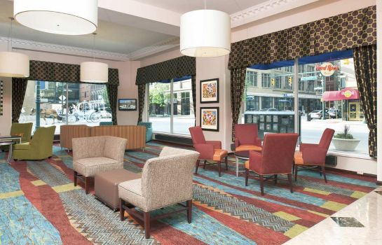Hall Hampton Inn Indianapolis Dwtn Across from Circle Centre