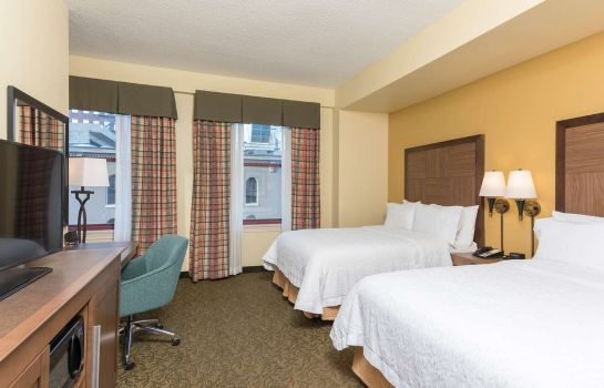 Zimmer Hampton Inn Indianapolis Dwtn Across from Circle Centre