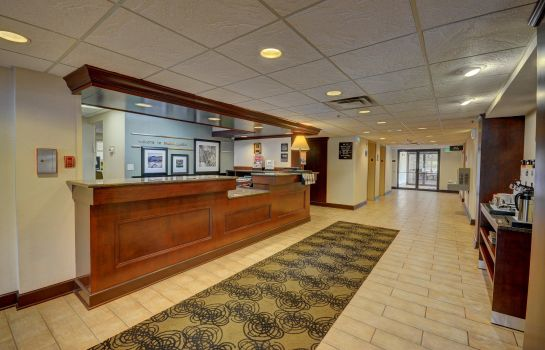 Hotelhalle Hampton Inn Indianapolis-South