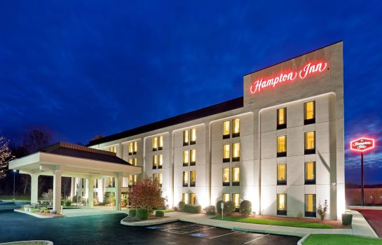 Vista esterna Hampton Inn Manheim