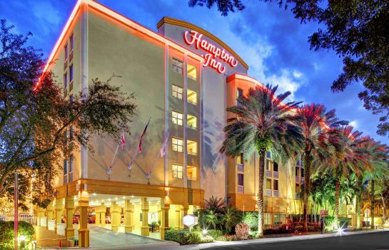 Exterior view Hampton Inn Miami-Coconut Grove-Coral Gables