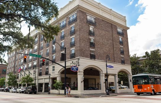Außenansicht Hampton Inn Savannah-Historic District