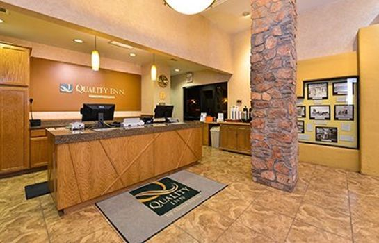 Hotelhalle Quality Inn Navajo Nation