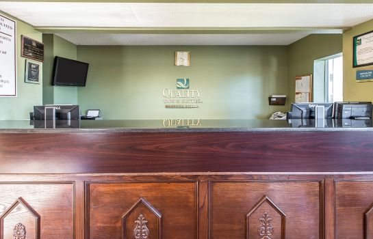 Hotelhalle Quality Inn and Suites Macon North