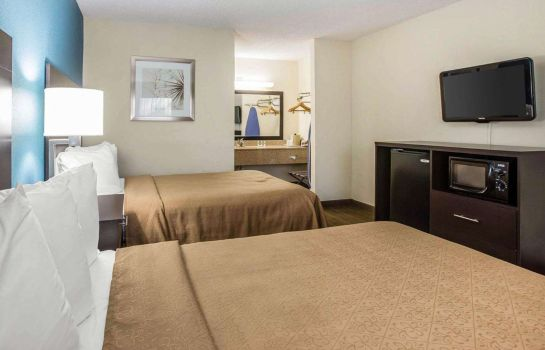 Chambre double (confort) Quality Inn Macon