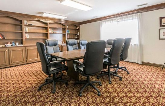 Conference room Quality Inn & Suites University/Airport