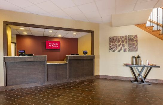 Hotelhalle PA Red Roof Inn Williamsport
