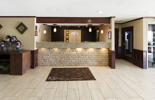 Hotelhalle Quality Suites Addison-Dallas
