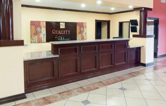 Hol hotelowy Quality Suites Intercontinental Airport West