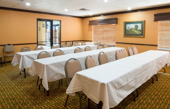 Sala de reuniones Quality Suites Houston IAH Airport - Bel